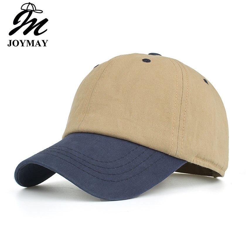 Joymay 2018 NEW ARRIVAL Spring Summer Autumn Season Unisex Contrast Color Baseball Cap Fashion Adjustable Retro Hat Cap B538 bfdadi 2018 new arrival hat genuine
