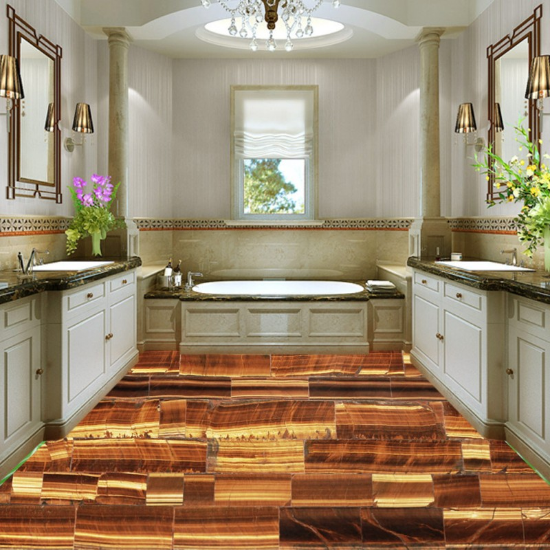 Free shipping custom Marble pattern mosaic 3D art flooring thickened self-adhesive living room 3d floor murals wallpaper free shipping photo 3d floor marble relief parquet flooring custom moisture anti skidding bathroom living room wallpaper mural