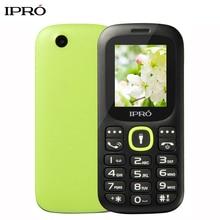 Russian Language Original IPRO I3185 1.8 Inch Push-Button Mobile Phone China GSM Dual SIM Card Standby Handphone Seniors Kids