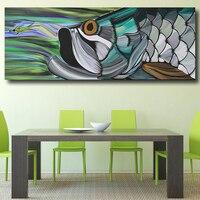 Плакат абстрактного искусства Брэд макминн Тарпон настенная живопись Печать на холсте картины для гостиной без рамки