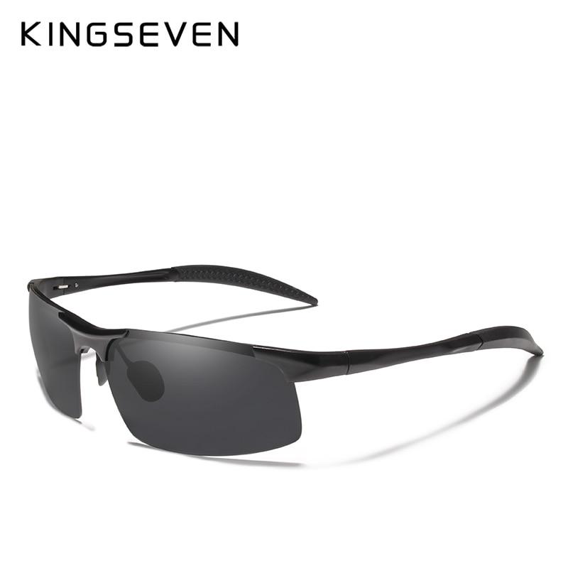 Kingseven marca hombres gafas polarizadas recubrimiento gafas de sol - Accesorios para la ropa - foto 2