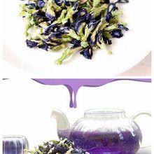 Новое поступление, высокое качество, чай Clitoria Terna. Чай в горошек с голубой бабочкой. Сушеный цветок гороха Clitoria kordofan. Таиланд