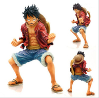One Piece Luffy PVC Action Figure Fighting Luffy Figure One Piece Anime Collectible Model Toy Figurine One Piece Toys OP08