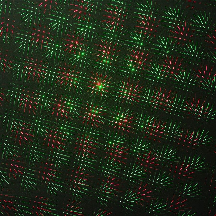 Image 5 - Thrisdar IP65 открытый RG звезда Рождественский лазерный проектор лампа звезда светодиодный светильник для дискотеки зеленый красный Ландшафтный садовый Светодиодный точечный светильник-in Эффект освещения сцены from Лампы и освещение on