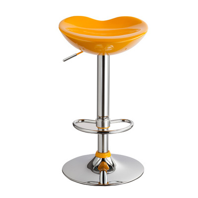 yellow color European and American fashion barber chair Middle East Dubai popular salon stool free shipping
