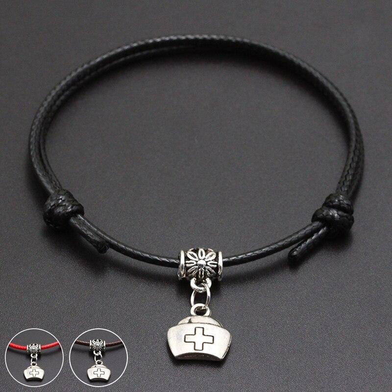 2020 New Medicine Box Pendant Red Thread String Bracelet Lucky Black Coffee Handmade Rope Bracelet for Women Men Jewelry