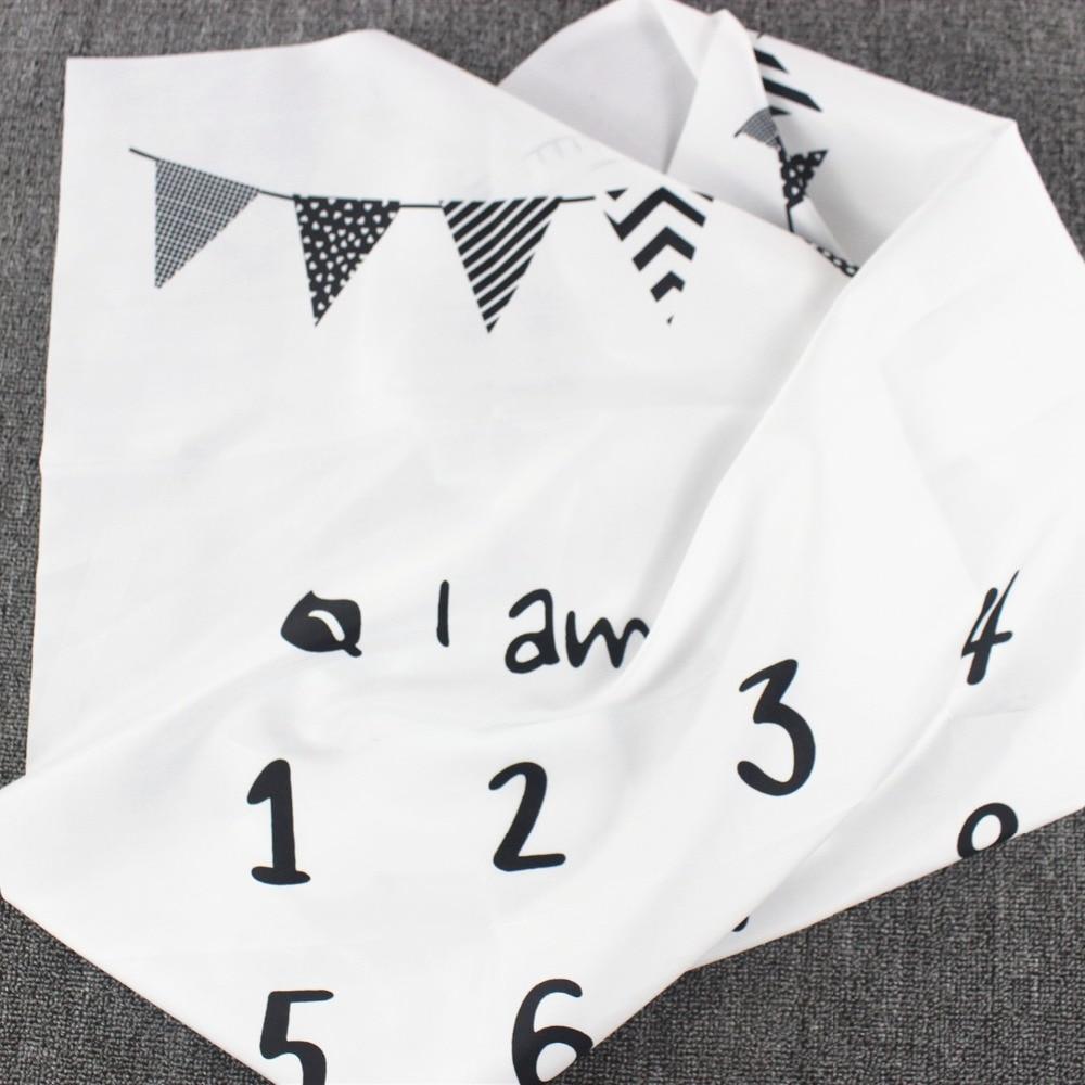 HTB1zfO2XNz1gK0jSZSgq6yvwpXaM Cartoon Infant Portray Blanket Milestone Photo Props Background Blankets Baby Play Mats Backdrop Calendar Photo Accessories