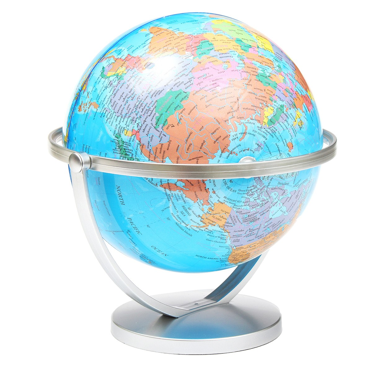 MIRUI 20cm 360 Degree Rotation World Globe Earth Map With Stand Children Geography Educational Toys Home Office English+Chinese