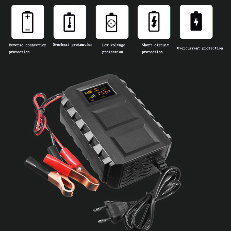New Smart Intelligent 12V Automobile Lead Acid Battery Charger for Car Motorcycle CSL2018