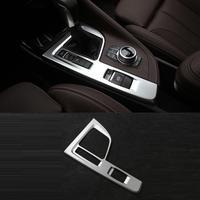 자동 창 컵 에어컨 자동차 장식 크롬 자동차 스타일링 수정 액세서리 17 18 19 bmw x1 시리즈 용
