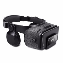 Newest ETVR Z5 3D Glasses Virtual Reality Helmet Google Cardboard VR box with Headset Stereo For 4.7-6.2  +bluetooth controller