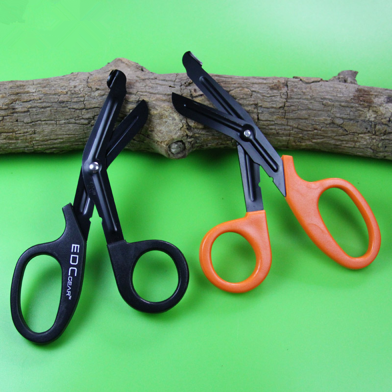 Outdoor Tools Careful Edc Gear Tactical Rescue Scissor Emergency First Aid Shears For Outdoor Trauma Bandage Package Useful