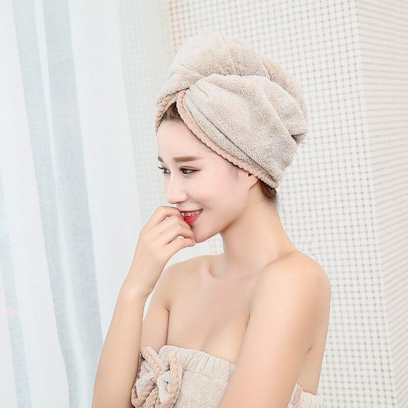 Women's Microfiber Bath & Hair Towels Set 2