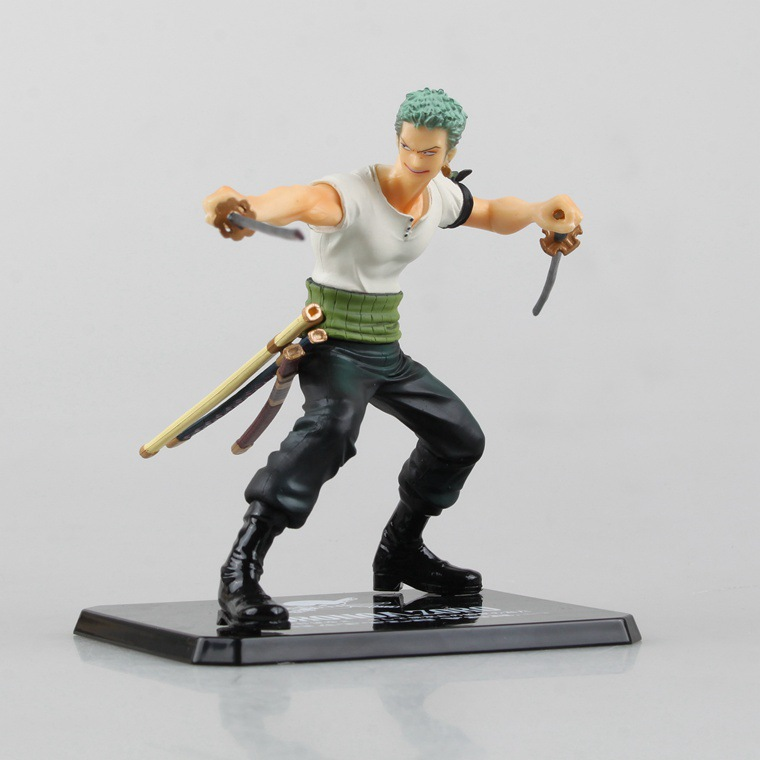 ФОТО SAINTGI One Piece Roronoa Zoro Action Figure Figuarts ZERO Special Japanese Anime Figure pvc 12CM Model free shipping
