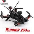 Оригинал Walkera 250 PRO GPS drone мультикоптер с 800TVL Гонщик или 1080 P HD камеры/OSD/GPS/ДЕВО 7 RTF transmtter Гонки