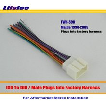 popular aftermarket radio harness kit buy cheap aftermarket radio Radio Harness Kits liislee car radio harness cable adapter for ls series navigator town car plugs into factory harness installation kits radio harness kits