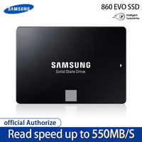 Samsung ssd 860 evo 250 gb 500 gb disco rígido interno de estado sólido hdd sata3 2.5 polegada computador portátil desktop mlc disco duro 250 gb