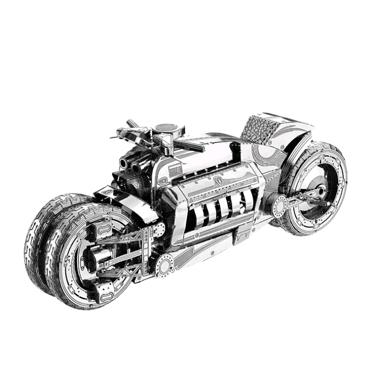 3D Metal Model Puzzles Multi style DIY Puzzle Jigsaw Kit For Adults  Children Kids Educational Collection Toys Concept motorcycle-in Model  Building