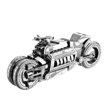 3D Metal Model Puzzles Multi-style DIY Puzzle Jigsaw Kit For Adults Children Kids Educational Collection Toys Concept motorcycle