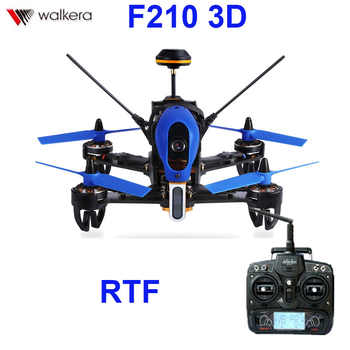 (In stock) Original Walkera F210 3D With Devo 7 transmitter  racing Drone quadcopter with OSD / 700TVL Camera RTF - DISCOUNT ITEM  11% OFF All Category