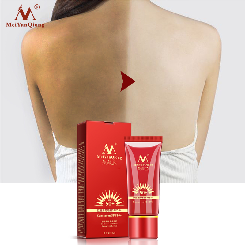 Beauty Essentials Whitening Repair Sunblock Skin Protective Cream Anti-sensitive Oil-control Moisturizing Isolation Meiyanqiong Sunscreen Spf50 Beauty & Health