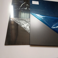 TYQ 1ps 400 x500mm 3K plain Glossy thickness Real Carbon Fiber Plate Panel Sheets High Composite Hardness Material RC