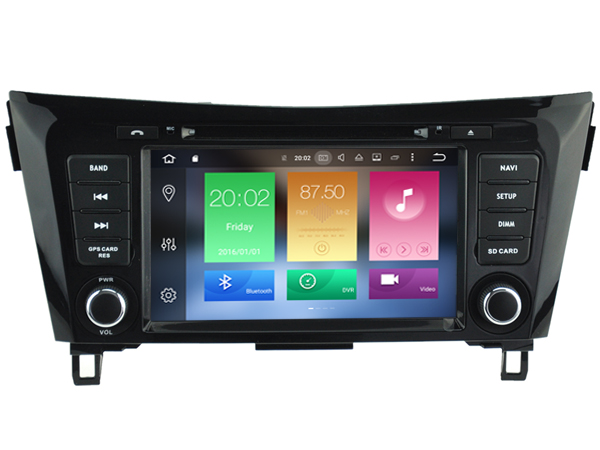 Octa(8)-Core Android 6.0 CAR DVD player FOR NISSAN QASHQAI X-Trail ROGUE car audio gps stereo head unit Multimedia navigation