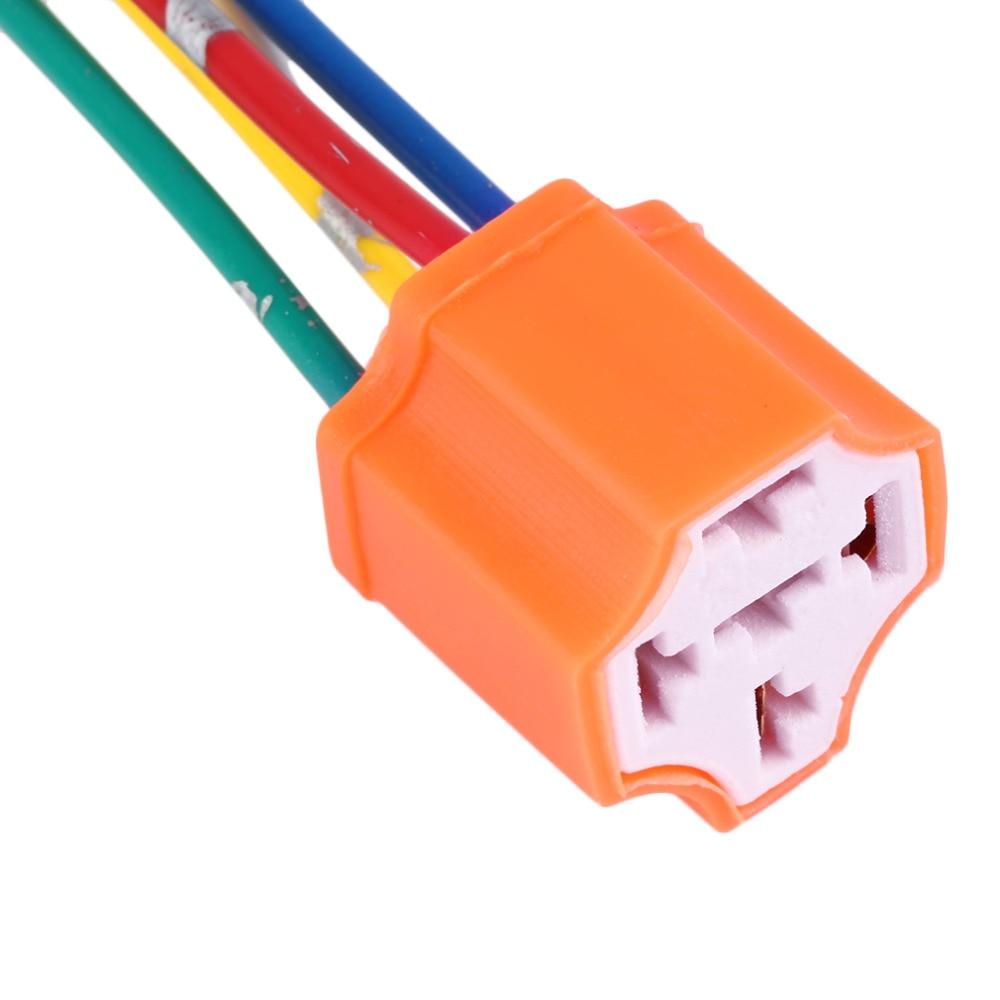 Aliexpresscom Buy Relay Socket Car Relay Orange Plastic - 5 pin relay socket