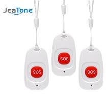 3 шт. беспроводной SOS Аварийная кнопка сигнализации домашняя охранная Кнопка тревоги датчик сигнализации 433 МГц для PS85 охранная сигнализация