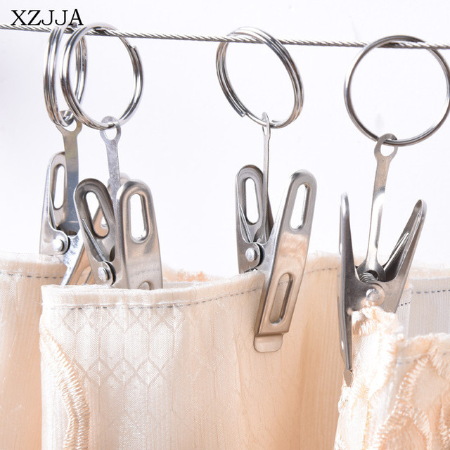 item movable rod xzjja suspension curtains high type clip rings curtain steel clips qaulity stainless shower
