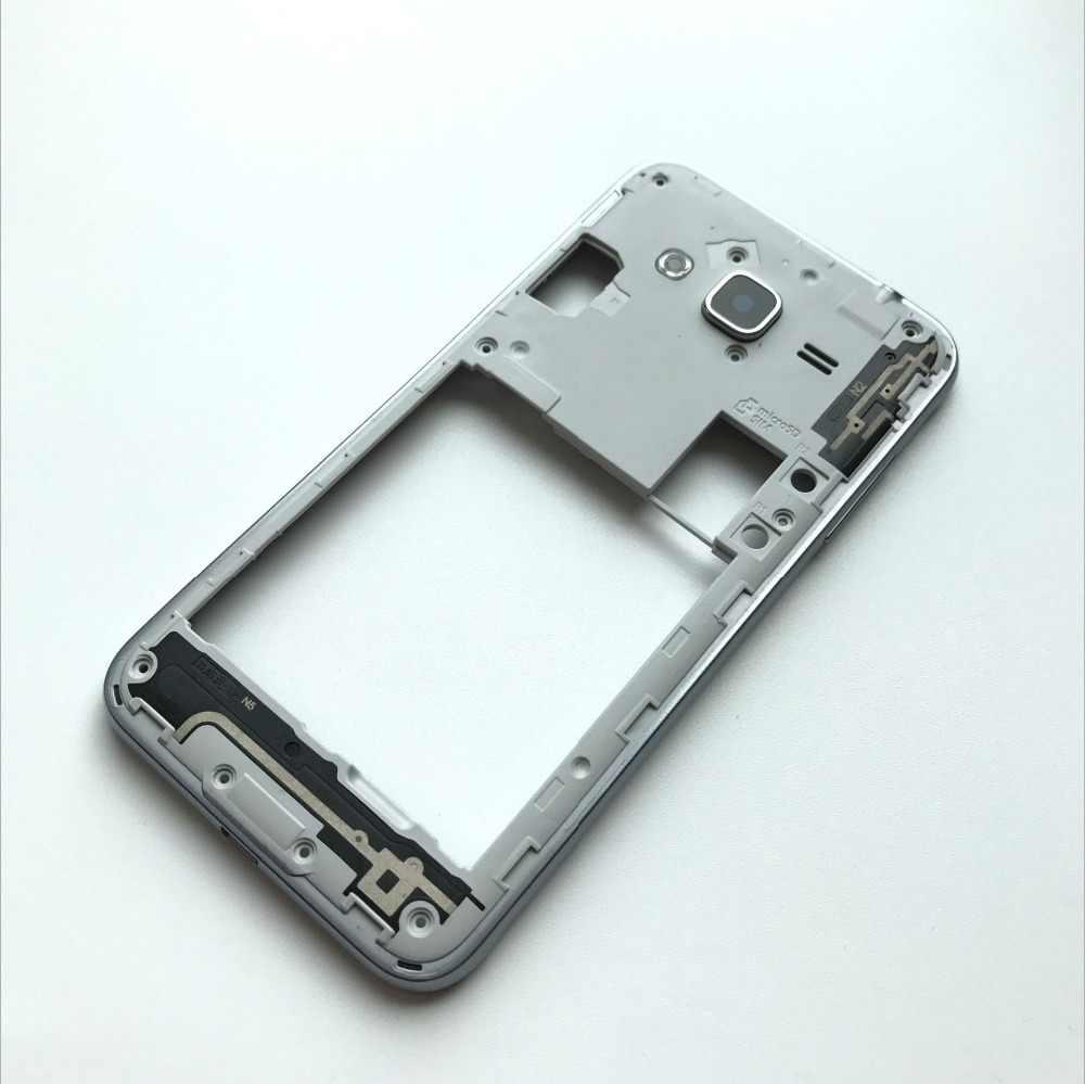 Baru Tengah Bingkai Bezel Backplate Housing Case Cover Suku Cadang Pengganti untuk Samsung GALAXY Grand J3 2016 J320 J3 Putih/ hitam/Emas