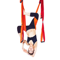 1 Piece 5 Colors Yoga Hammock Swing Multifunction Anti Gravity Gym Hamack Belts For Hanging Training