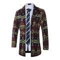 2017 estilo largo chaqueta de los hombres de lana otoño situs de china del estilo Retro blazer