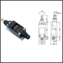 Switch travel limit switch 24A   Limit switch  limit switch  micro switch TZ-08122 стоимость