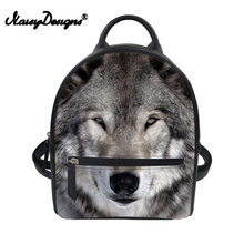 f9e446f1424c Popular Leather Wolf Backpack-Buy Cheap Leather Wolf Backpack lots ...