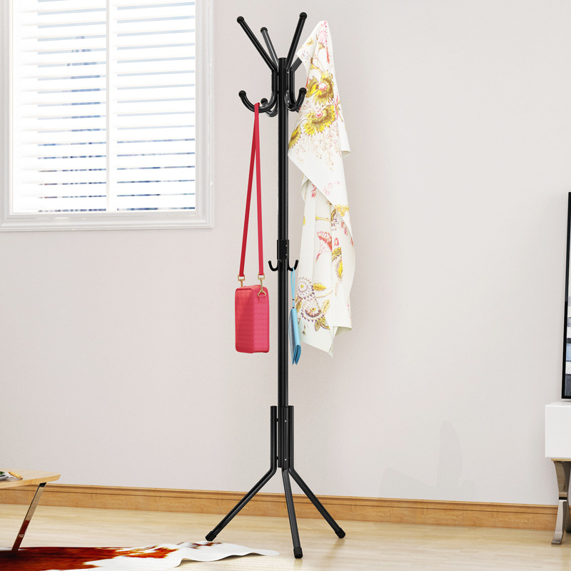 Creative Coat Rack Iron art Bedroom Hat Stand Clothing Rack living room single pole Storage Hanger Household Furniture цена