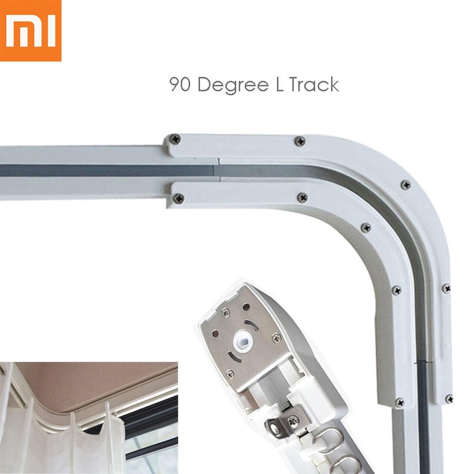 High Quality 90 Degree L/U Curtain Track For Xiaomi Aqara Motor, Zigbee Automatic Curtain Rails System,for 90 Degree L/U Window