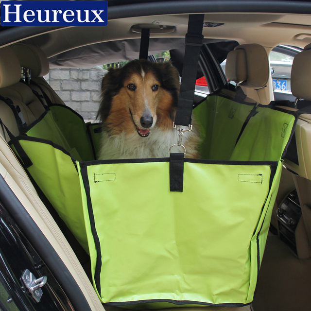 Heureux Dog Bed For Car Back Seat Thick House Small And Large Dogs Washable
