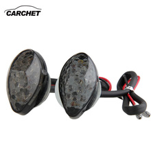CARCHET F5 LED DC 12 В 15 LED Мотоцикла Указатель Поворота лампа Мигалка для Honda CBR 600RR 900RR 929 Указатель Поворота янтарный