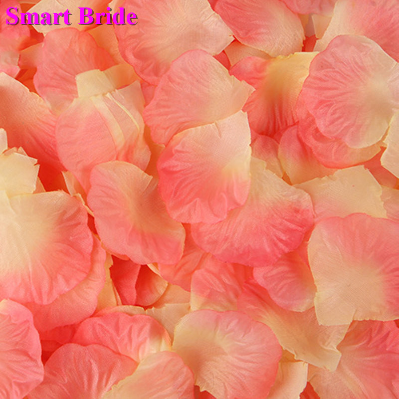 Pink Champagne Wedding Rose Petals White Dark Red Black De Mariage Artificial Flowers Romantic Fake Petales De Fleurs 1000 Pcs