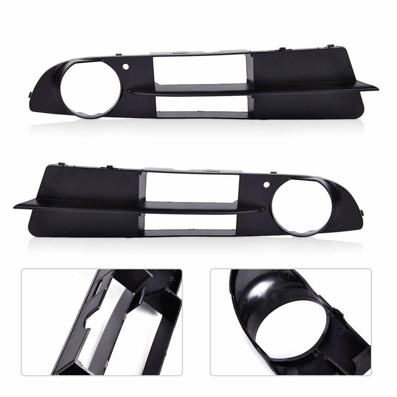 Parts Kit Fog Lamp Frames Exterior Grilles Accessories For BMW E60 525i/530i E61 545i 550i 2pcs Car Light