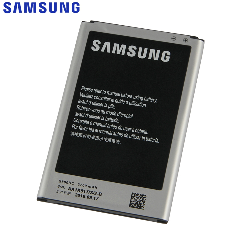 Samsung Battery Replacement N9005 Note3 B800BE Galaxy Original for Note-3/N900/N9002/..