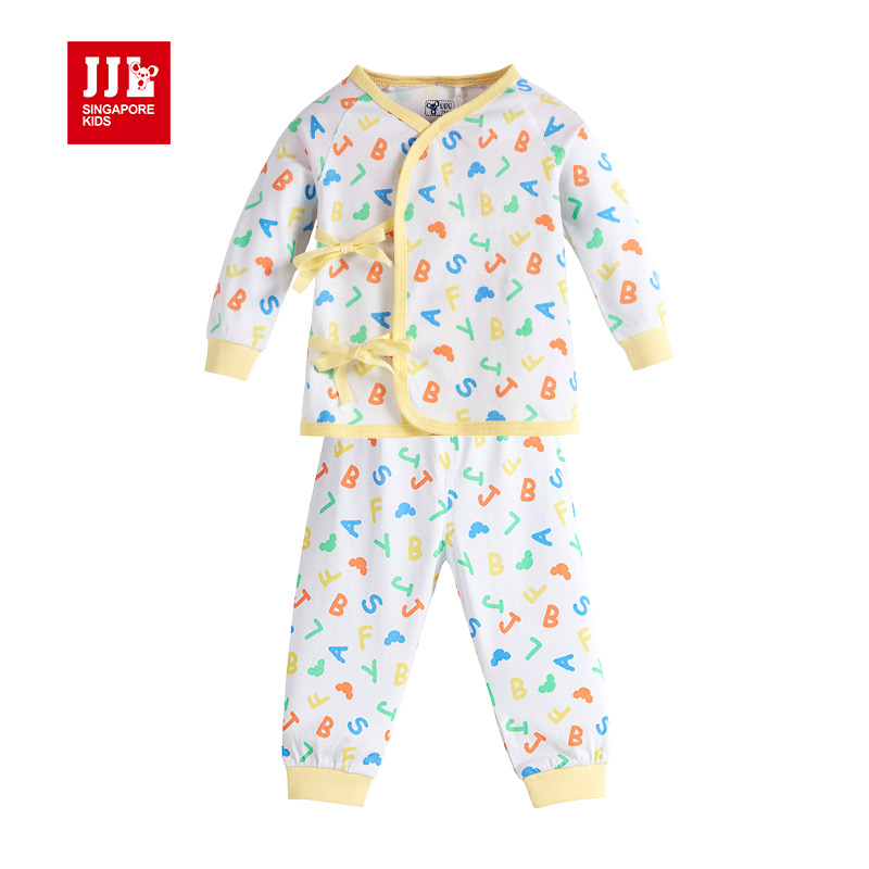 2016 new spring-summer-autumn high quality 100% cotton newborn baby clothing sets top+pant infants suit baby girls boys clothes