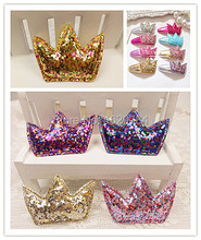 Fashion DIY Accessories Solid Cute Glitter Crown DIY Hairpin Parts Kawaii Tiaras DIY Materials Hair Accessories