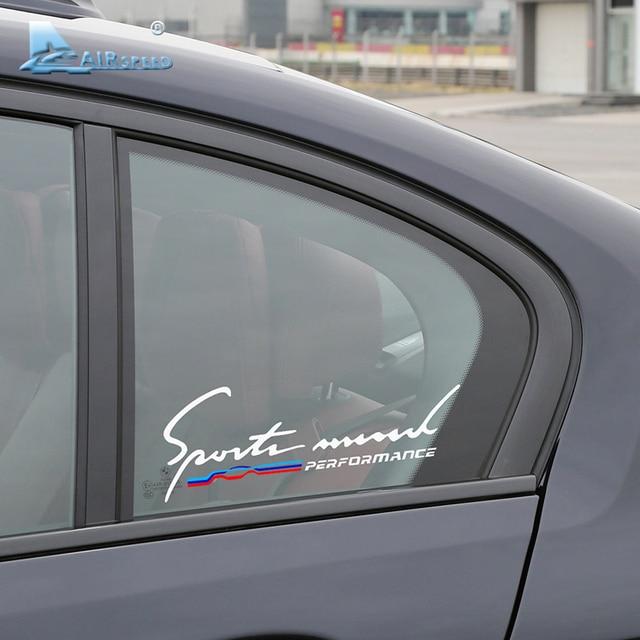 Airspeed car window stickers decals for bmw f20 f30 f10 e90 e36 e46 e39 e60 x5