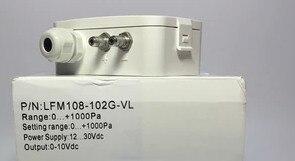 Livraison gratuite LFM108 Micro capteur de pression différentielle/transmetteur pression pression d'air capteur de pression différentielle