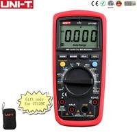 Free Shipping UNI T UT139C Digital Multimeter Auto Range True RMS Meter Handheld Tester 6000