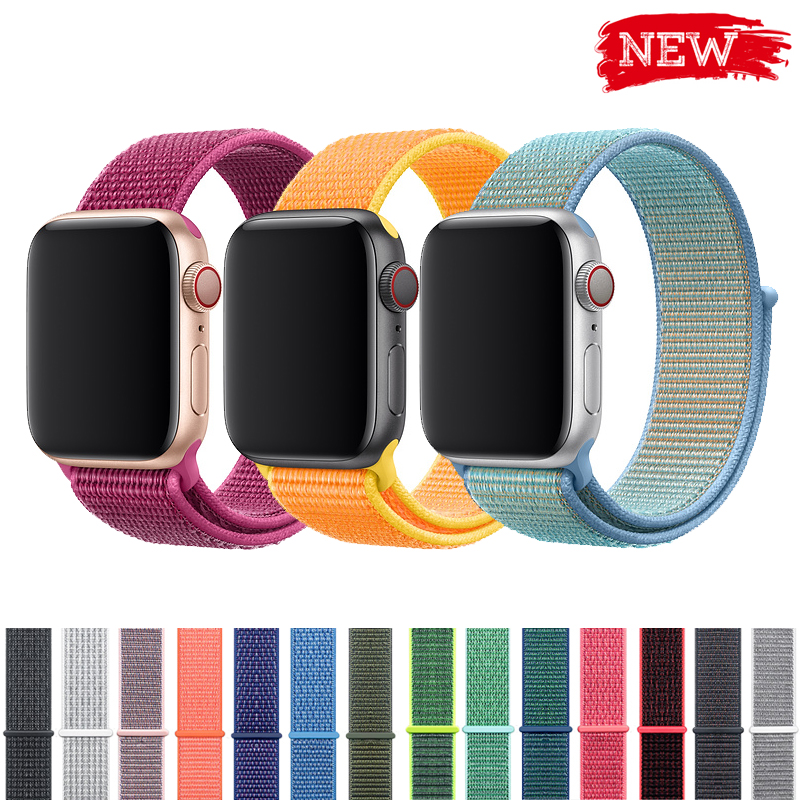 Idg Sport Loop Strap For Apple Watch 4 Band 44mm Nylon