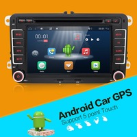 3G Quad Core 2 Din Android 7 1 Car DVD Player For VW Volkswagen GOLF 5