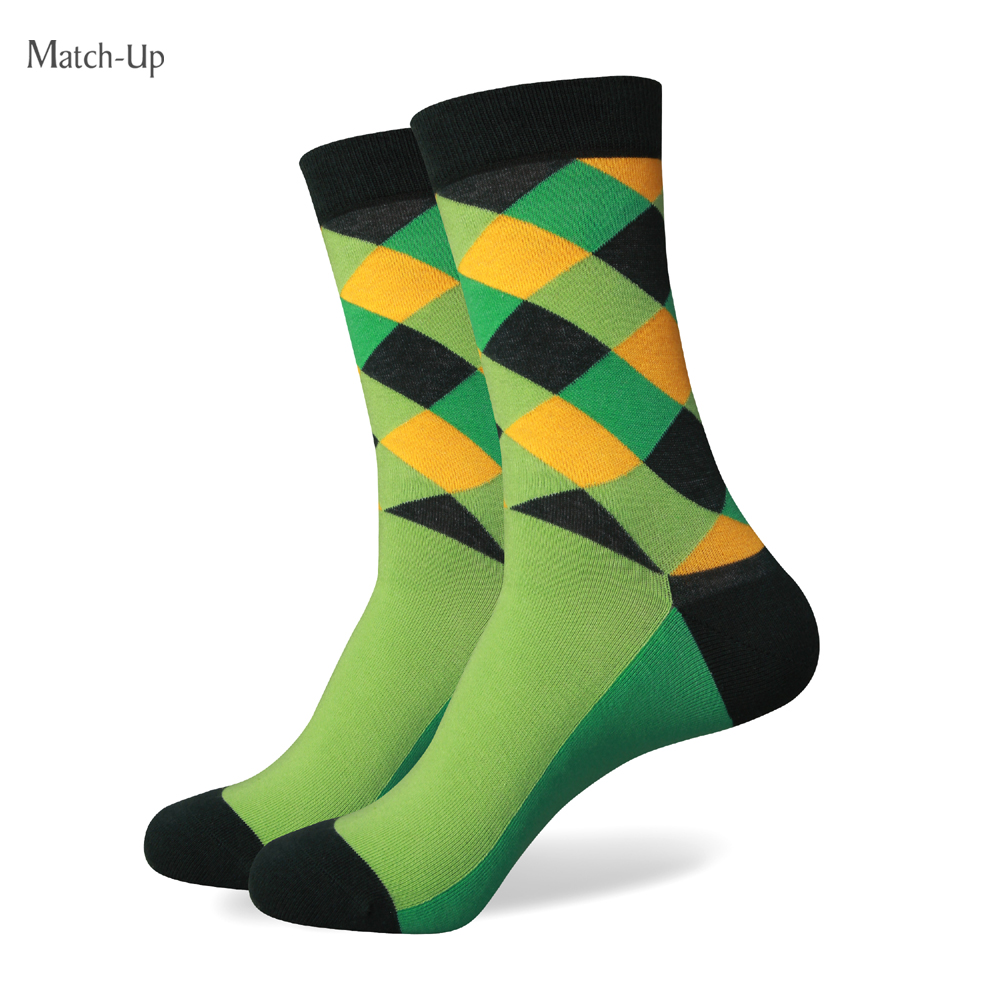 Match-Up  Men Colorful Combed Cotton Socks 263